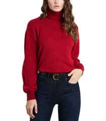 1.state open back turtleneck sweater