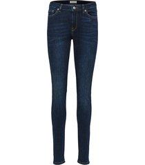 skinny jeans donkerblauwe