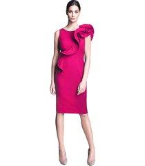sukienka ołówkowa różowa