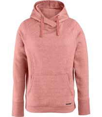 wolverine madison pullover hoody blush heather, size l
