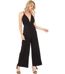 macacão my favorite thing(s) pantalona canelado preto