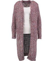 garcia lang dik vest violet blush met zilverdraad