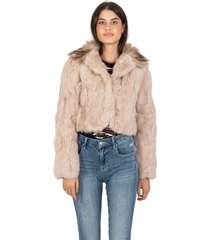 blush lapin short jacket