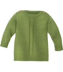 gebreide trui, groen 86/92