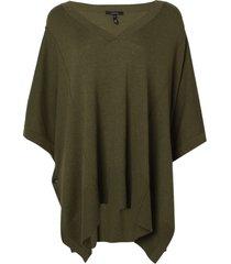 blusa rosa chá new i tricot verde feminina (capers / green, gg)