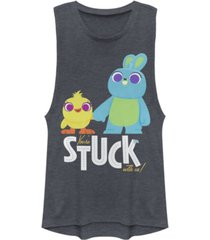 disney pixar juniors' toy story 4 stuck with us festival muscle tank top