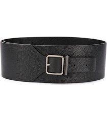 fabiana filippi tapered buckle belt - black