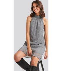 rut&circle kary dress - grey,silver