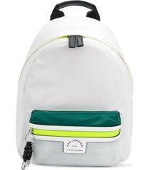 karl lagerfeld rue st guillaume tennis backpack - white