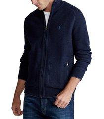 polo ralph lauren men's cotton full-zip sweater