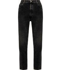 golden goose deluxe brand jeans happy in denim nero