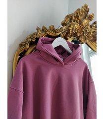bluza z kapturem vintage lilac soho