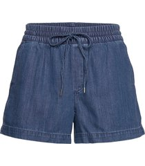 indigo twill shorts shorts denim shorts blå gap