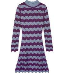 a-line dress purple/blue