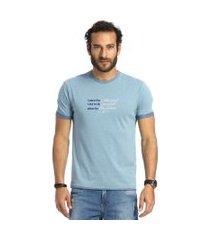 camiseta vlcs mind slim azul