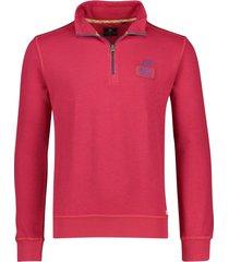 rode sweater new zealand oamaru rits in kraag