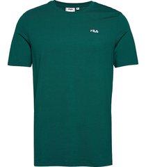 men unwind tee t-shirts short-sleeved grön fila