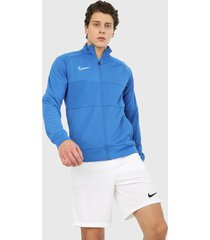 chaqueta azul royal-blanco nike dry academy