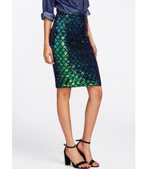 skirt pencil sequin party club new dress womens iridescent diamond sequined new