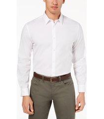 calvin klein men's stretch cotton shirt