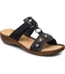 608a9-14 shoes summer shoes flat sandals blå rieker