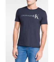 camiseta mc re issue deslocado - marinho - pp