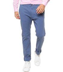 pantalón azul terra man chino