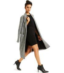 culpos x inc knit coat, created for macy's