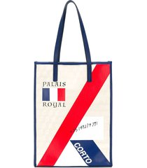 corto moltedo palais royal shopper tote - neutrals