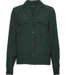 ally ls shirt blouse lange mouwen groen soft rebels