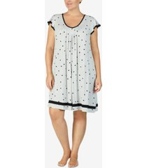 ellen tracy plus size yours to love short sleeves nightgown