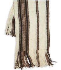 kimn mohair stripe scarf
