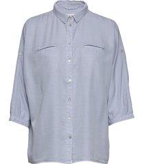 shirt overhemd met lange mouwen blauw sofie schnoor