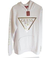 suéter guess original importado blanco