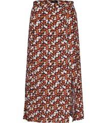 sx yrsa skirt knälång kjol orange soaked in luxury