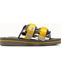 suicoke sandalo moto-veu3 colore argento