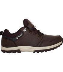 zapatilla marrón  topper kang low