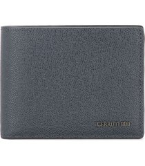 cerruti 1881 classic billfold wallet - blue