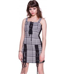 sukienka checkered