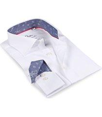 levinas men's finollo long-sleeve dress shirt - white - size 16