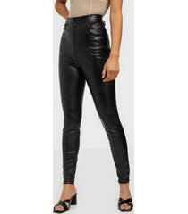 missguided croc leather trousers byxor