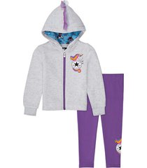unicorn chuck taylor patch set met hoodie en legging