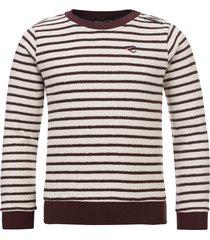 common heroes gestreepte sweater voor jongens in de kleur