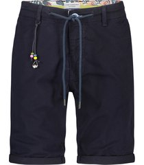 a fish named fred 22.03.220 bermuda navy peached navy blue -