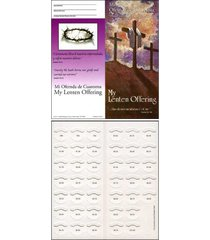 lent crosses quarter coin folders for church organizations fundraising holds ...