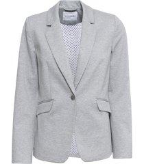 blazer in jersey con fodera a pois (grigio) - bodyflirt