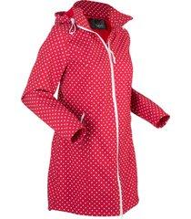 giacca lunga in softshell elasticizzato (rosso) - bpc bonprix collection