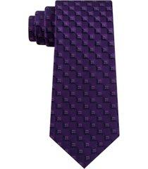 kenneth cole reaction men's classic geometric tie