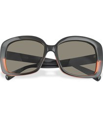 marc jacobs designer sunglasses, black and red square sunglasses