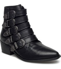 9985-1 shoes boots ankle boots ankle boots with heel svart pavement